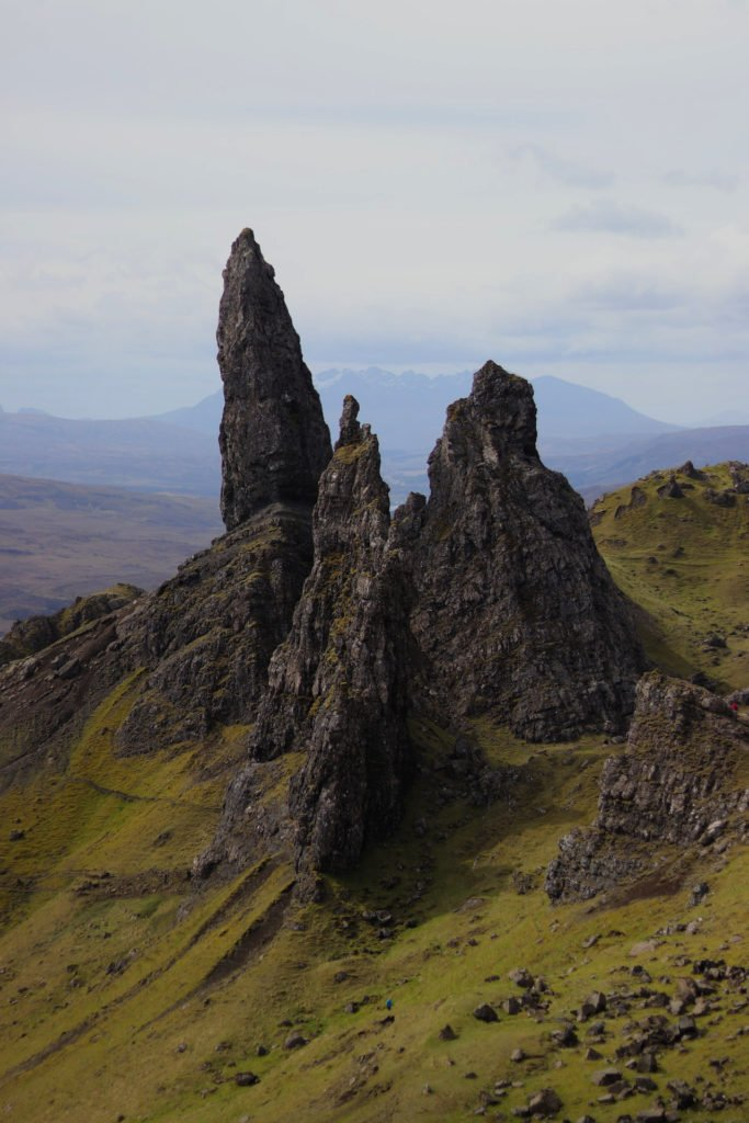 Monolithes rocheux du Old Man of Storr