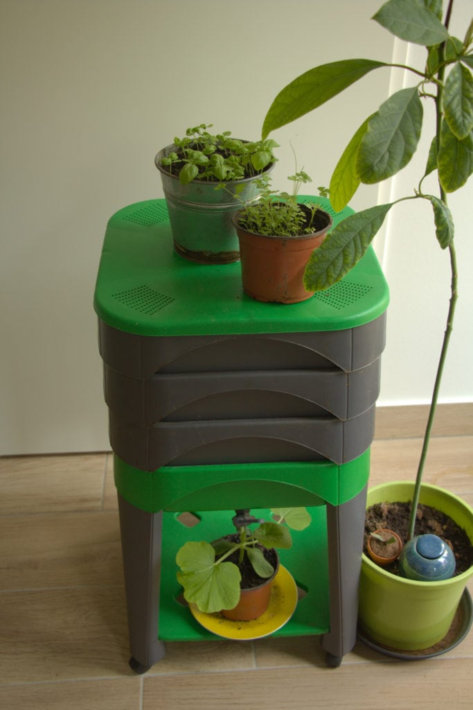 Lombricomposteur City Worms, pour composter en appartement